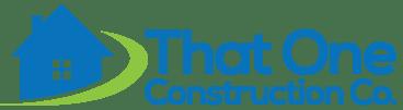 That One Construction Company Logo